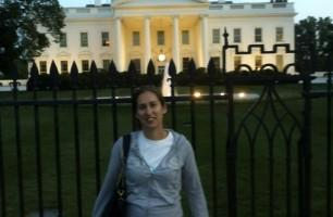 Outside the White House