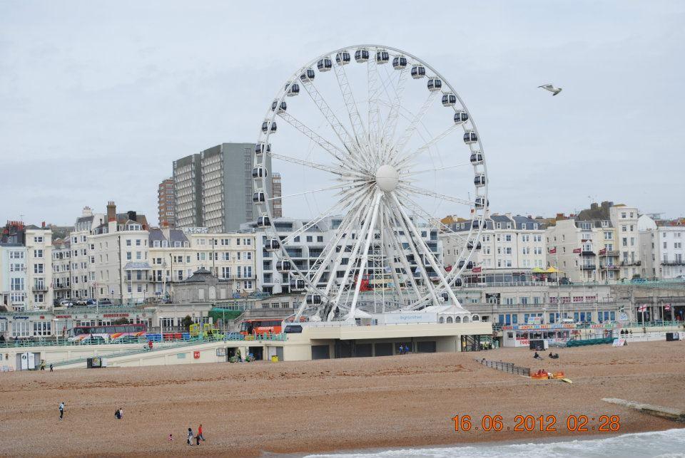 Wheel Brighton is a great beach