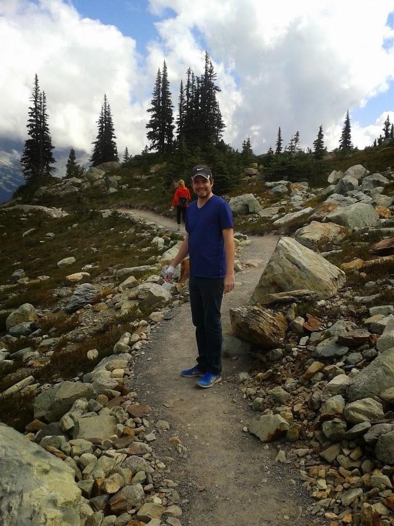 Whistler walk mountain