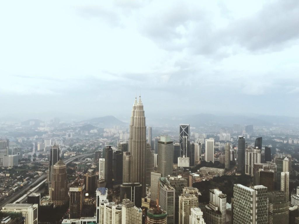 view from kuala lumpur tower