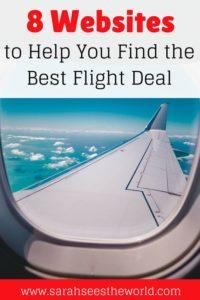 Pinterest pin airline wing 8 websites to help you find the best flight deal