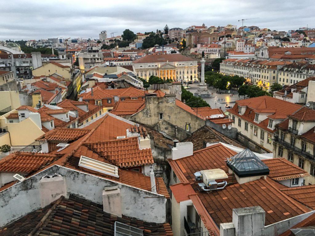 Santa Justa Lift thoughts on Lisbon