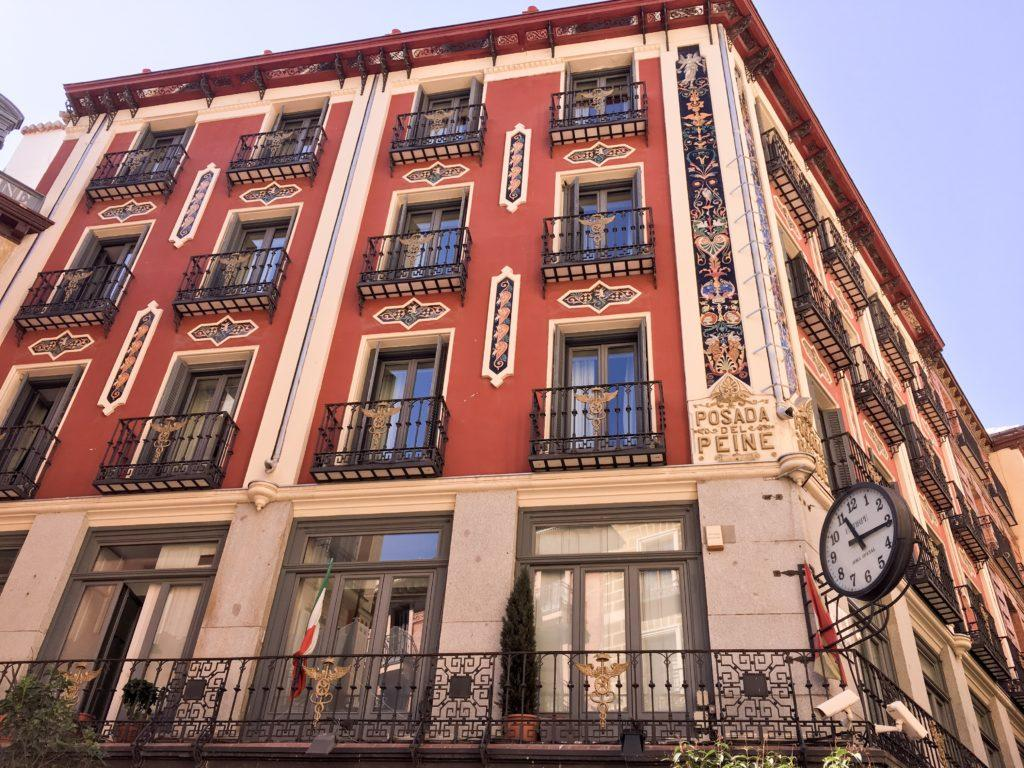 Oldest hotel in Madrid