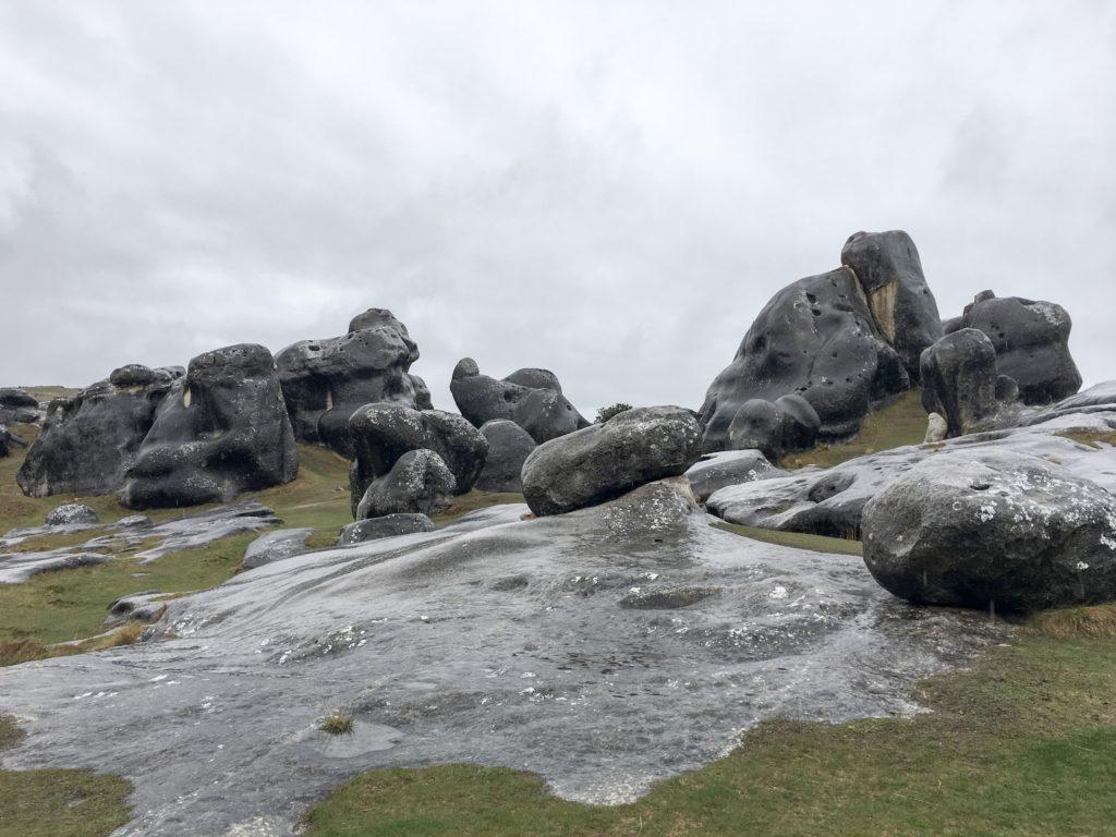 Castle Hill Canterbury limestone Wild Kiwi tour