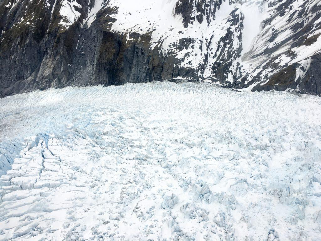 Glacier view from Franz Josef helicopter Scenic Flight over glacier
