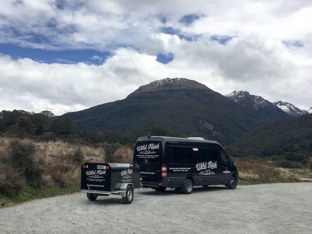 Wild Kiwi Tour Bus New Zealand