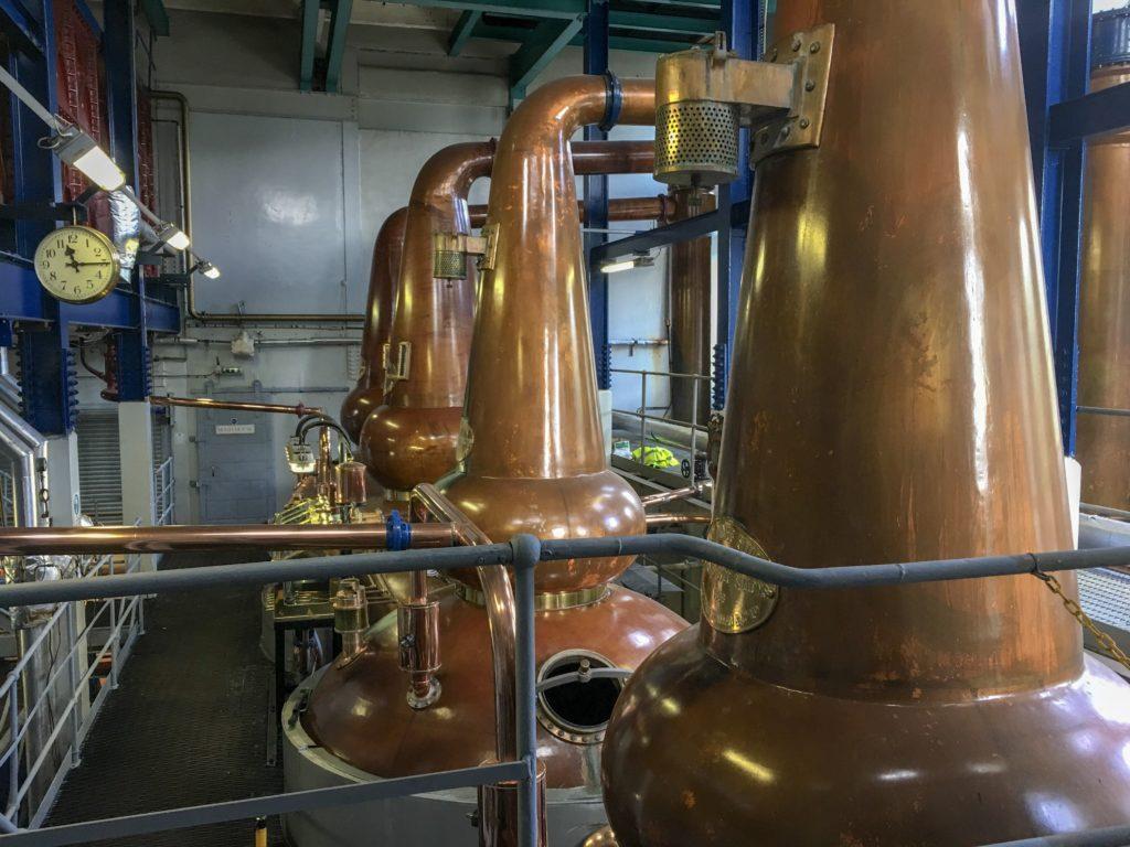deanston whisky distillery equipment
