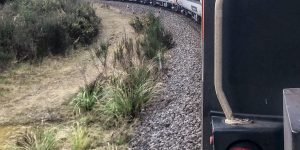 Taking the Northern Explorer Train to Auckland